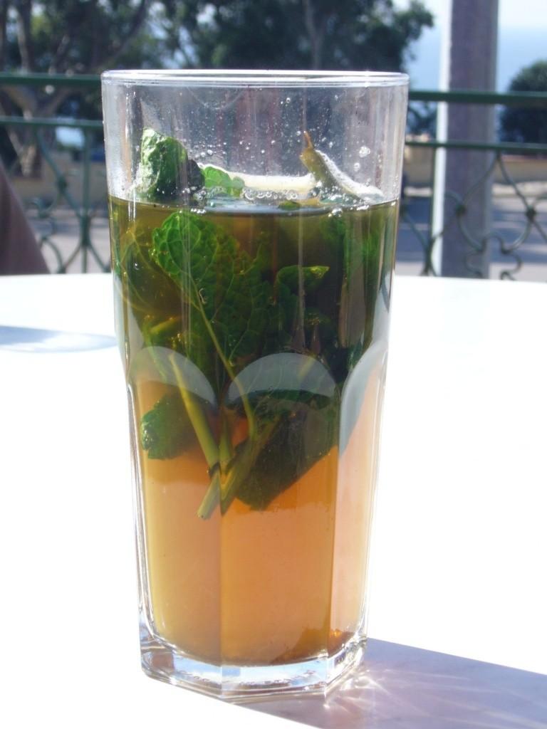 El verdadero té marroquí