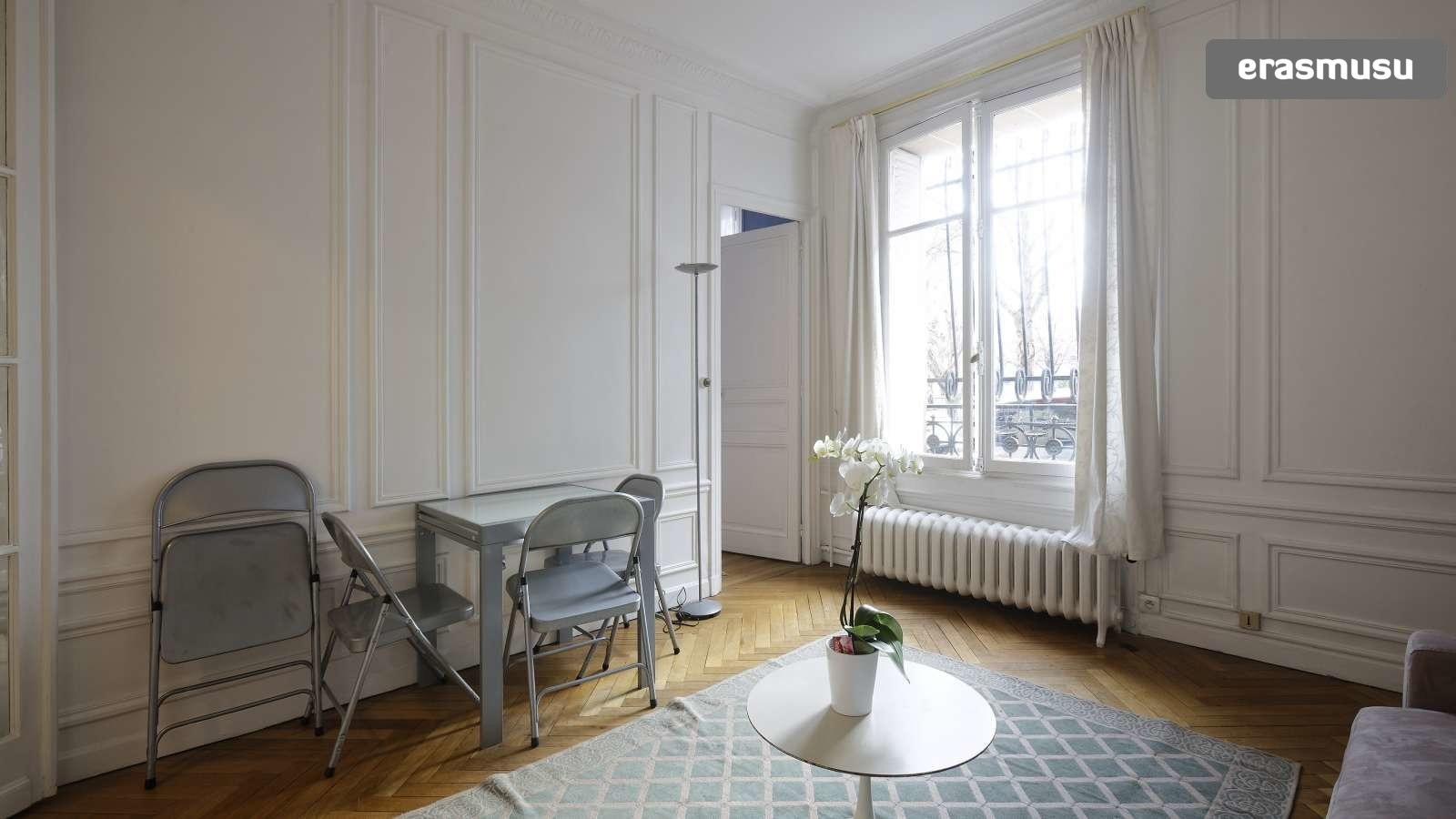 Elegant 1 Bedroom Apartment for Rent in Passy With Utilities Included