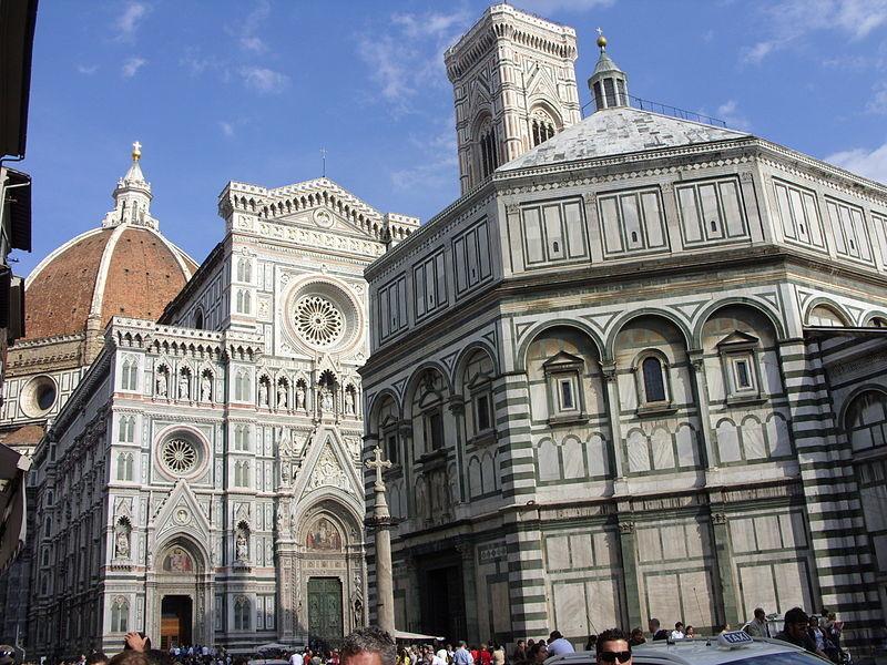 En las calles de Florencia