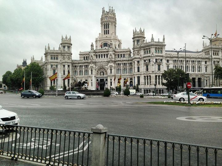 En train d'explorer Madrid