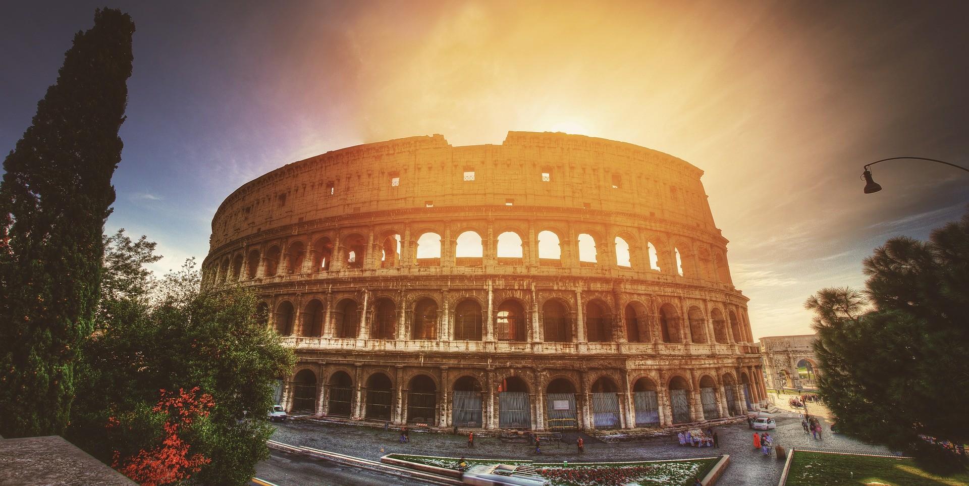 Enamorada del Coliseo