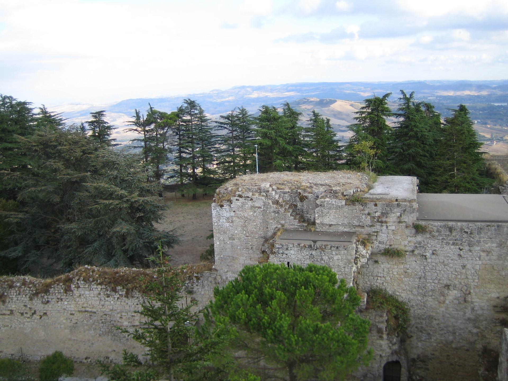 Enna Castle