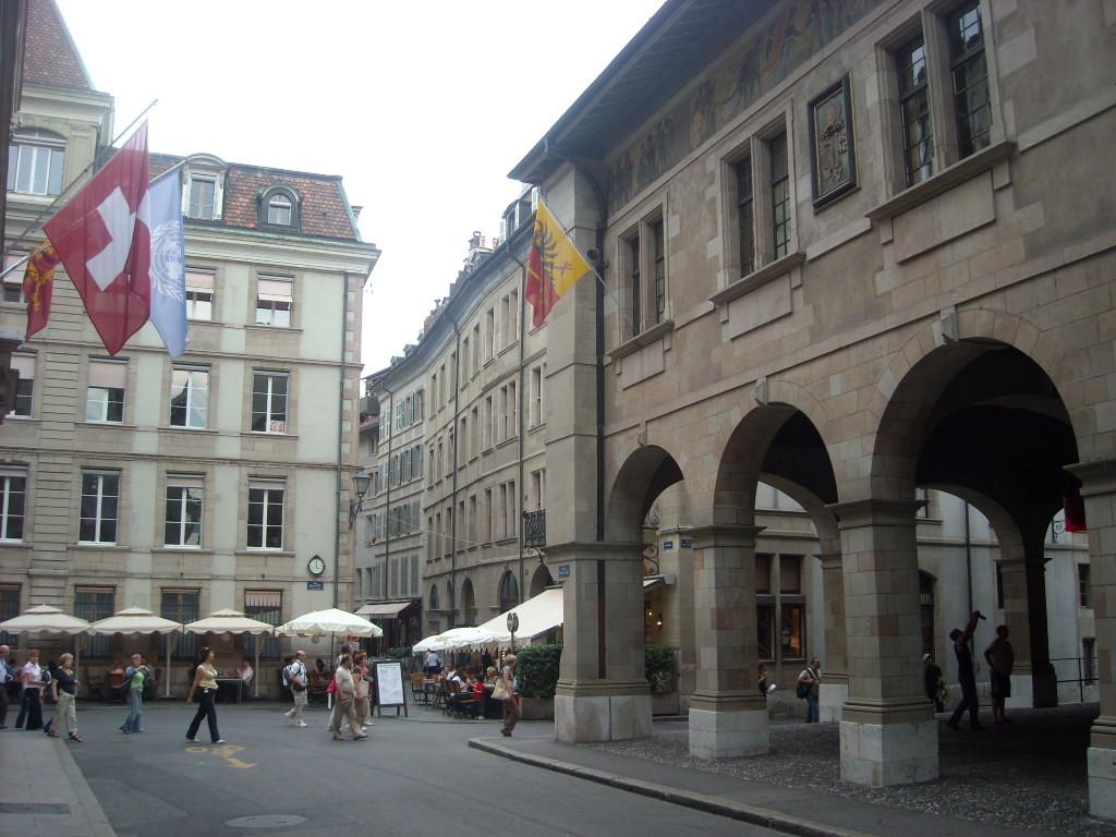 Erasmus ervaring in Genève, Zwitserland door Hanna.