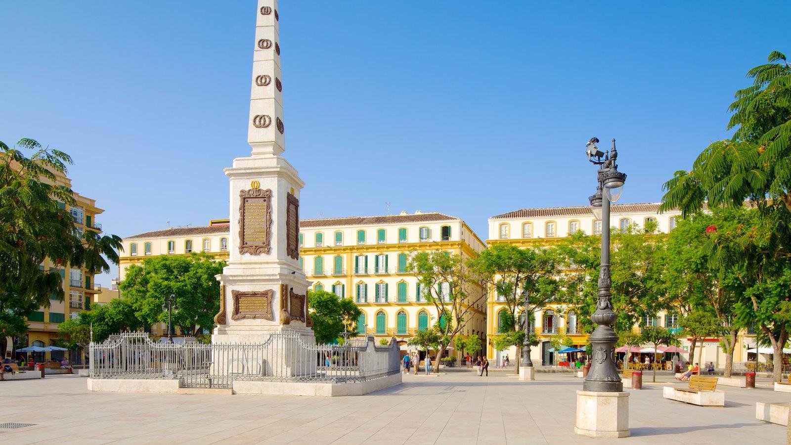 Erasmus experience in malaga spain by natalia erasmus for Plaza uncibay
