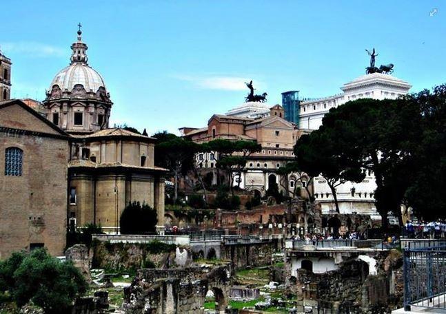 Erasmus in Rome