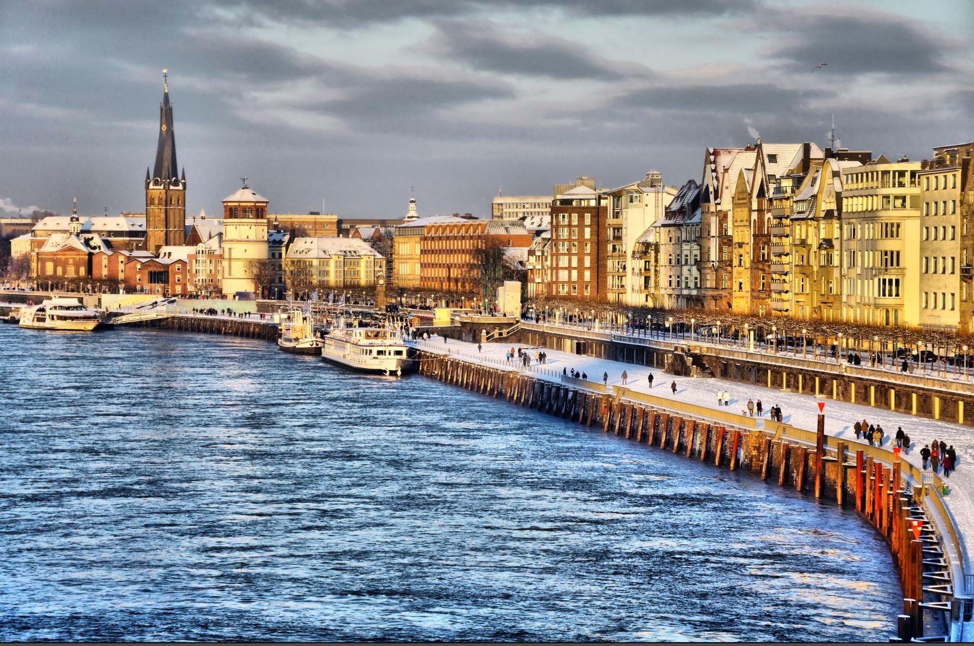 Erasmusowa przygoda w Düsseldorfu, Niemcy według Azizy