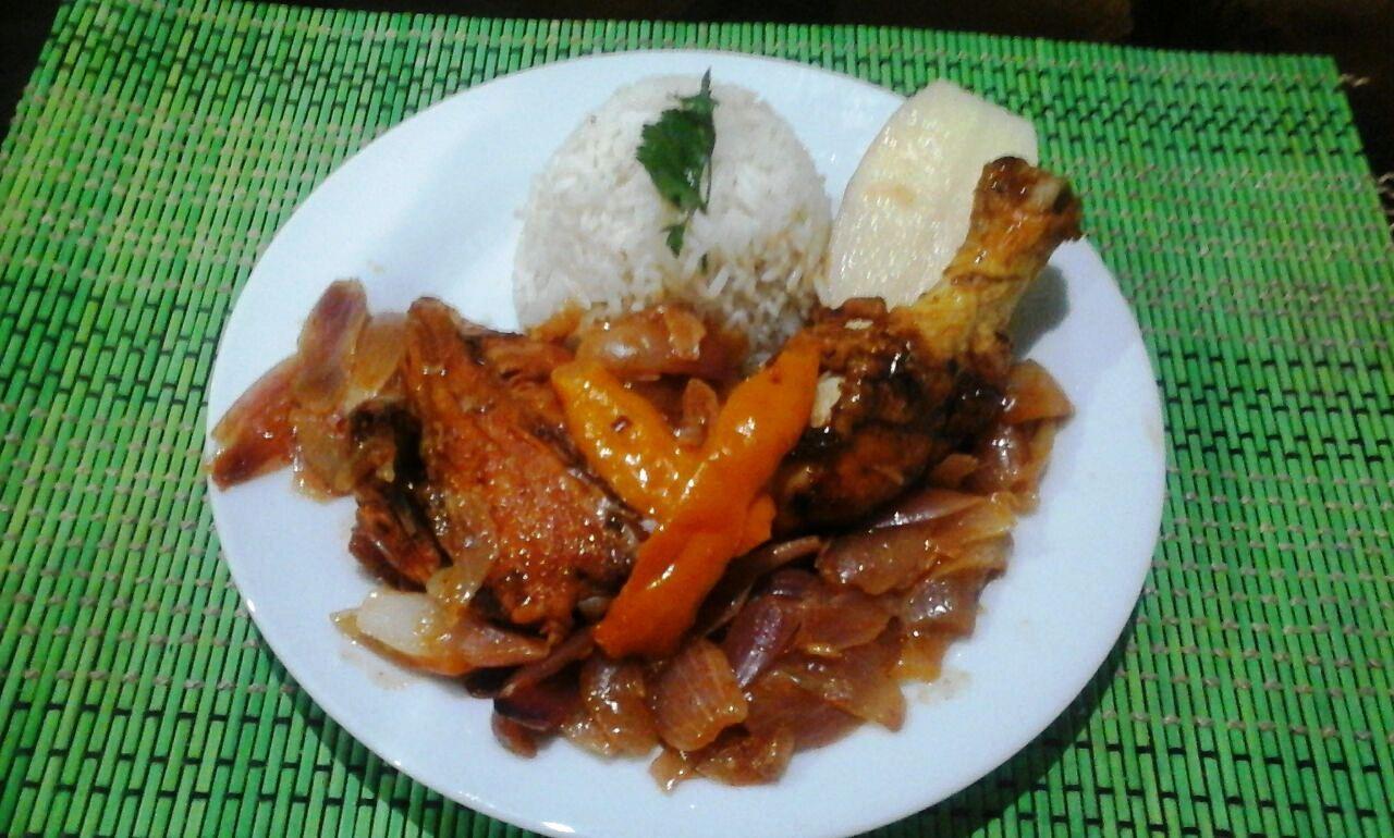 escabeche de pollo peruano para chuparse los dedos
