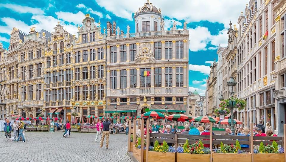 Esperienza a Bruxelles, Belgio di Catherine