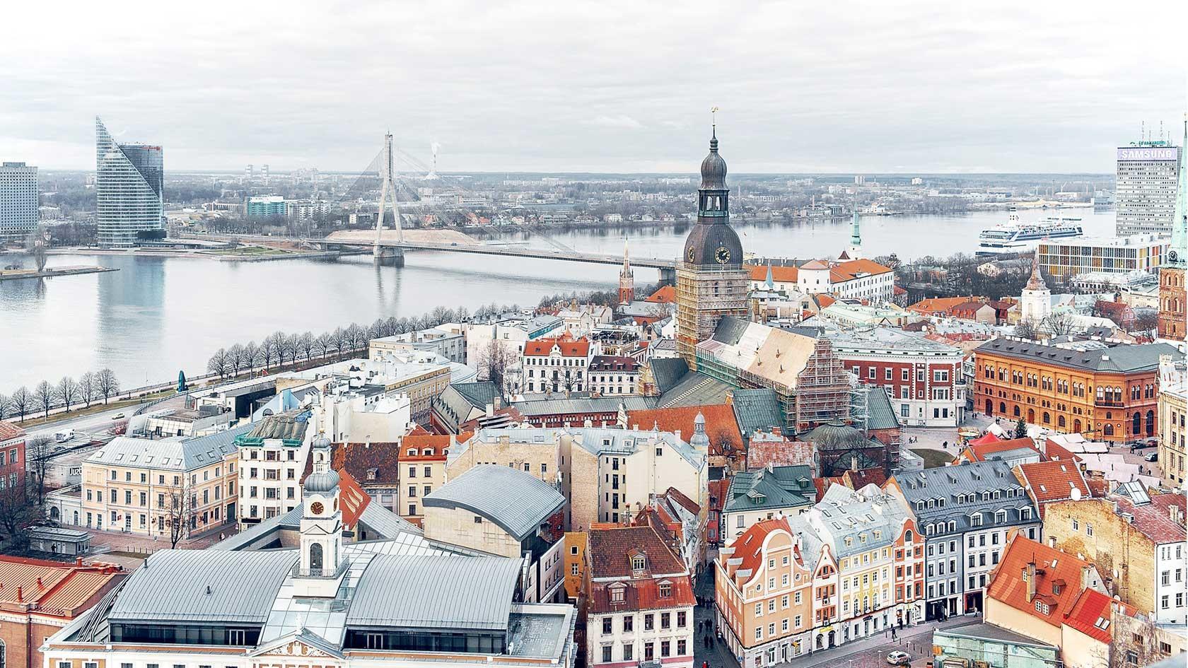Esperienza a Riga, Lettonia