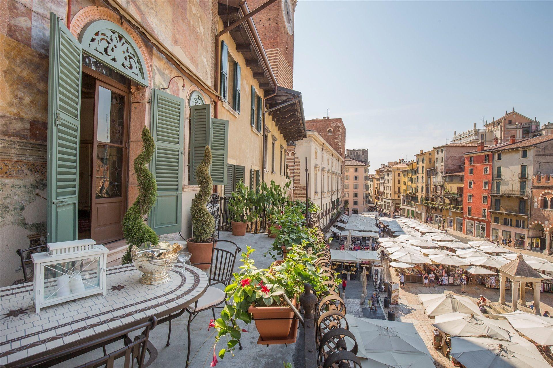 Esperienza a Verona, Italia di Inês