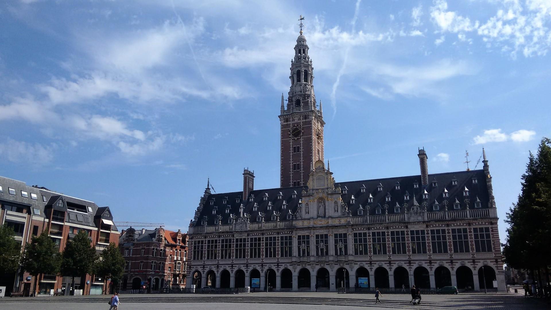 Esperienza all'Università di Louvain, Belgio di Loui