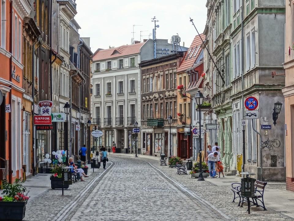 Esperienza di Łukasz a Bydgoszcz, Polonia