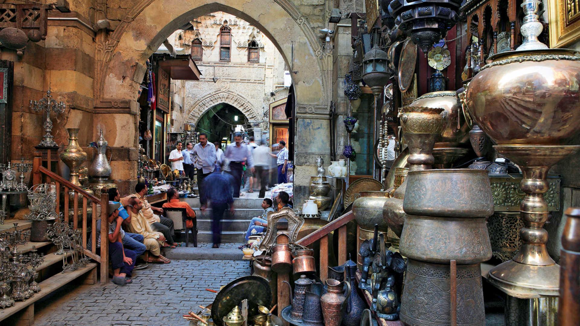 Esperienza di Ziyad nel Cairo, in Egytto