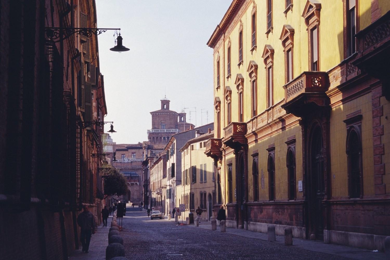 Esperienza Erasmus a Ferrara, Italia di Benjamin