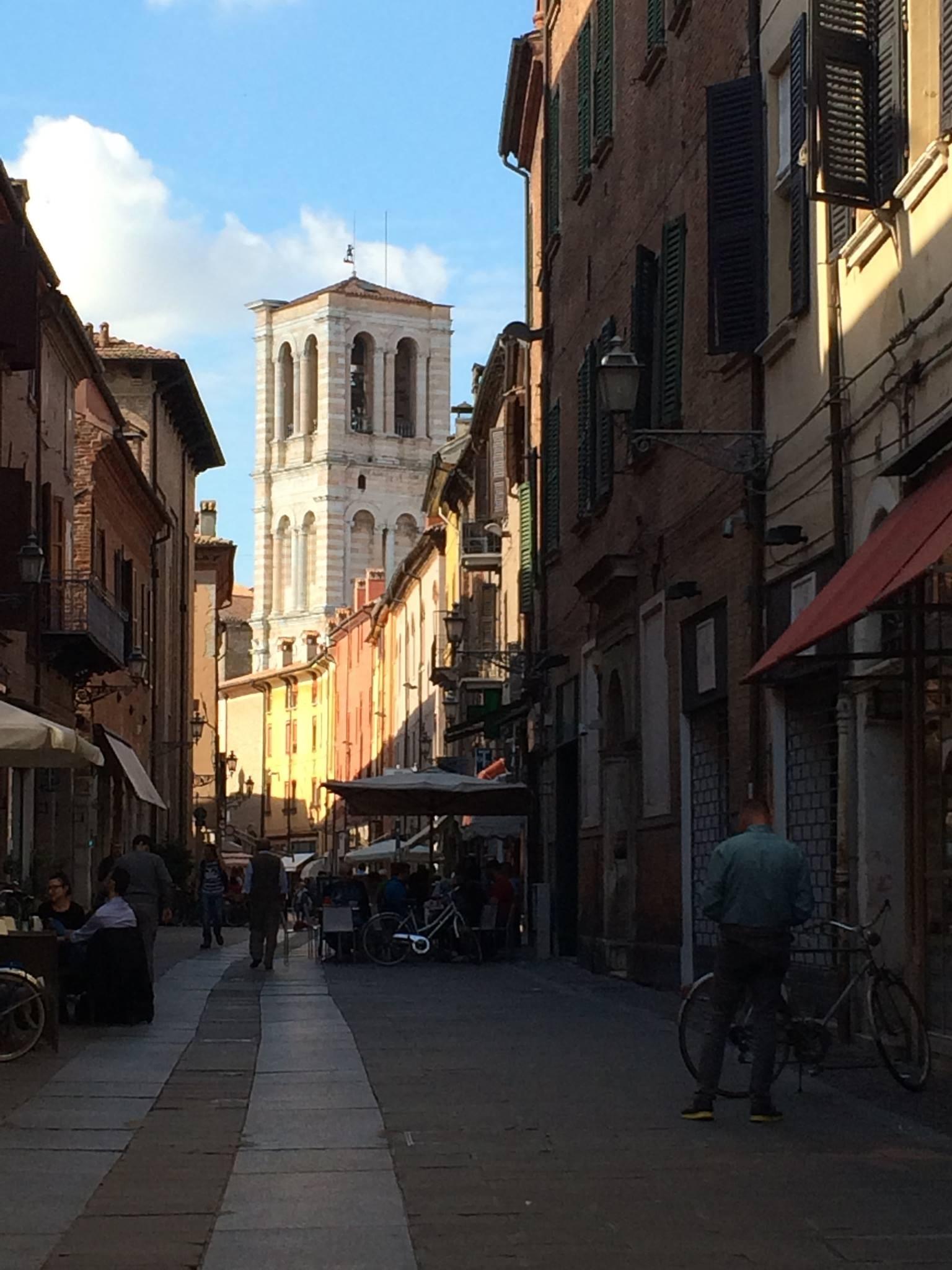 Esperienza Erasmus di Lynn a Ferrara, Italia