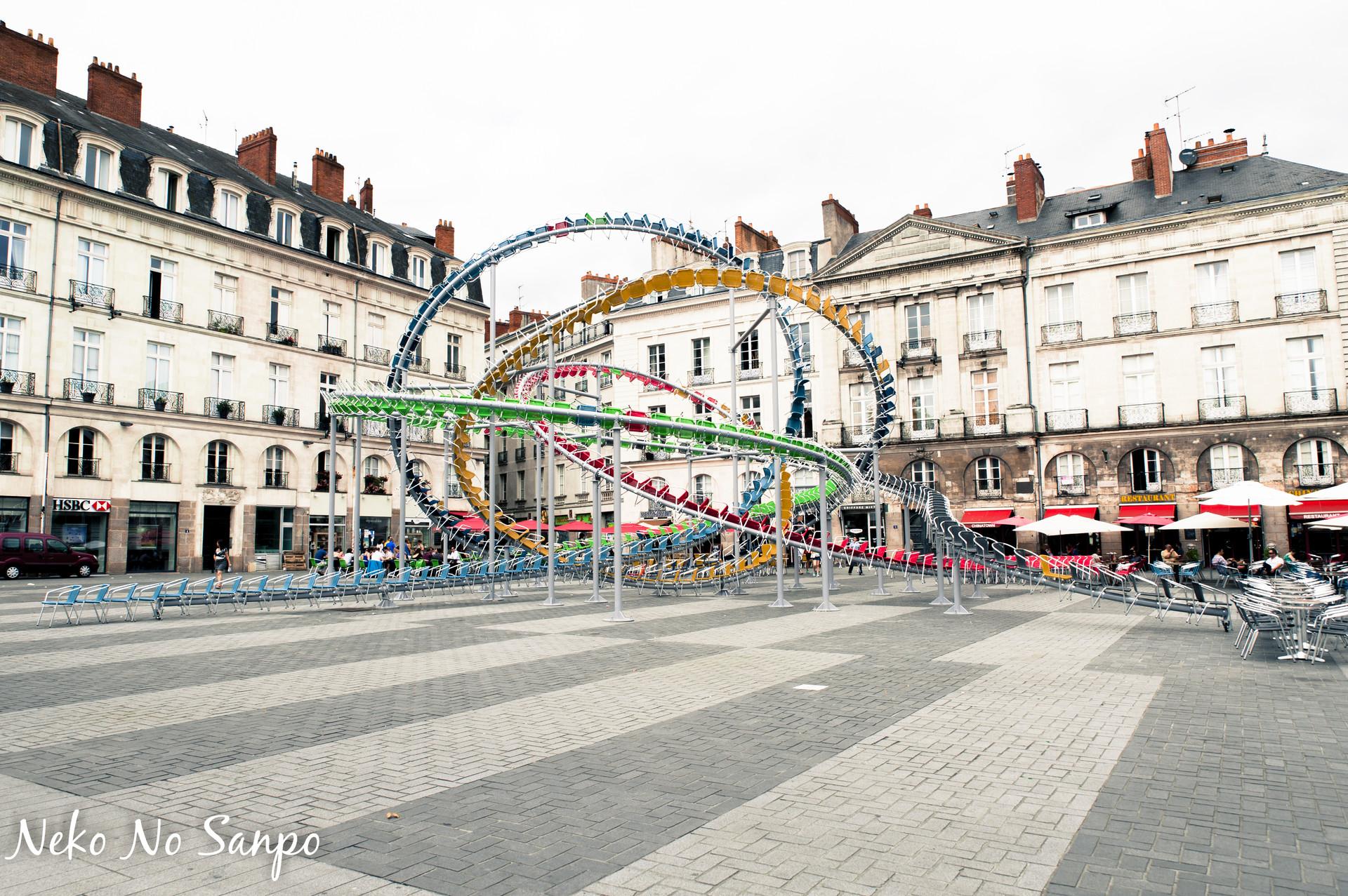 Esperienza a Nantes, Francia di Mélissa