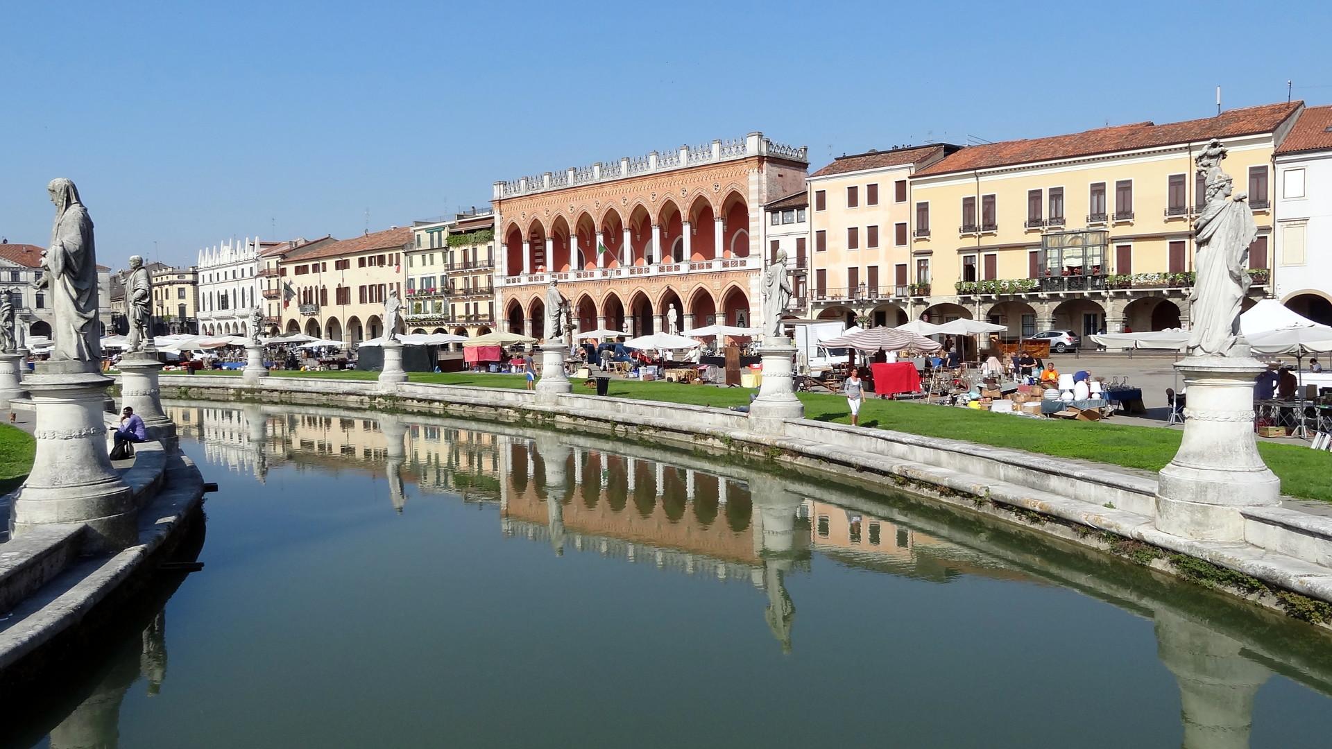 Esperienza all'Università di Padova, Italia di Adriano