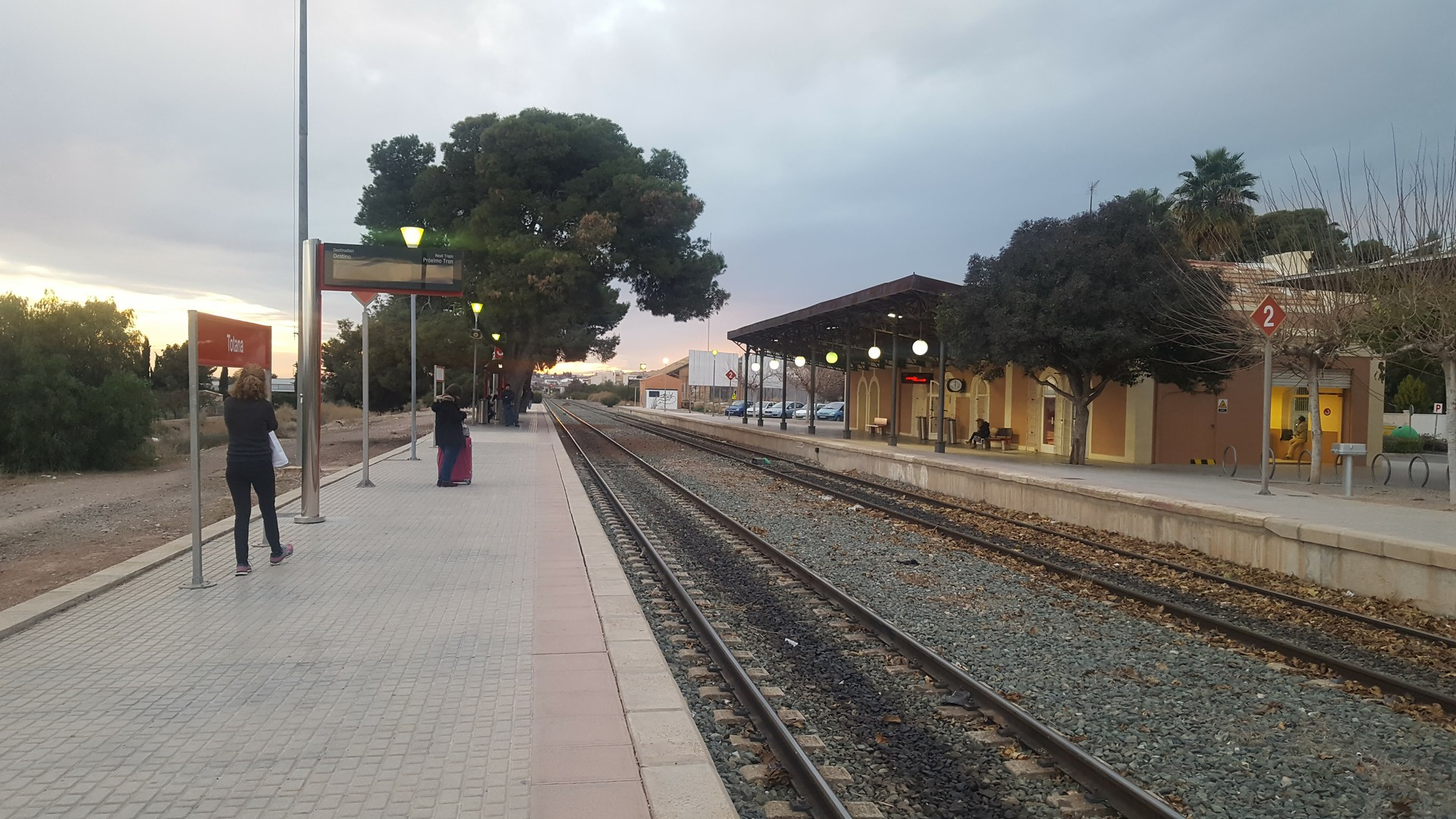 Estacion De Tren De Totana Blog Erasmus Murcia Espana