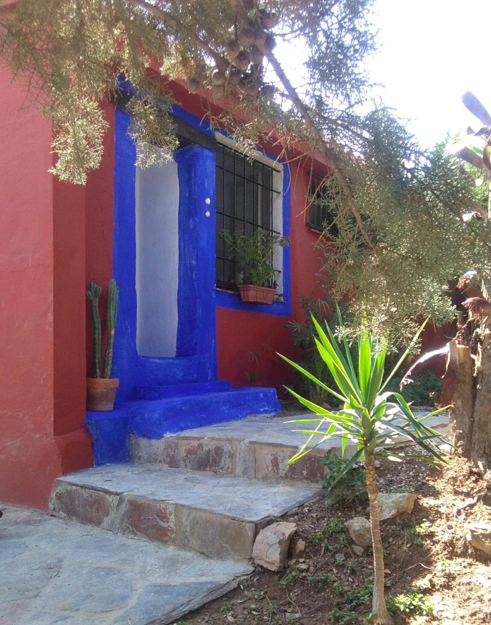 Estudio con jardín   Alquiler estudios Málaga