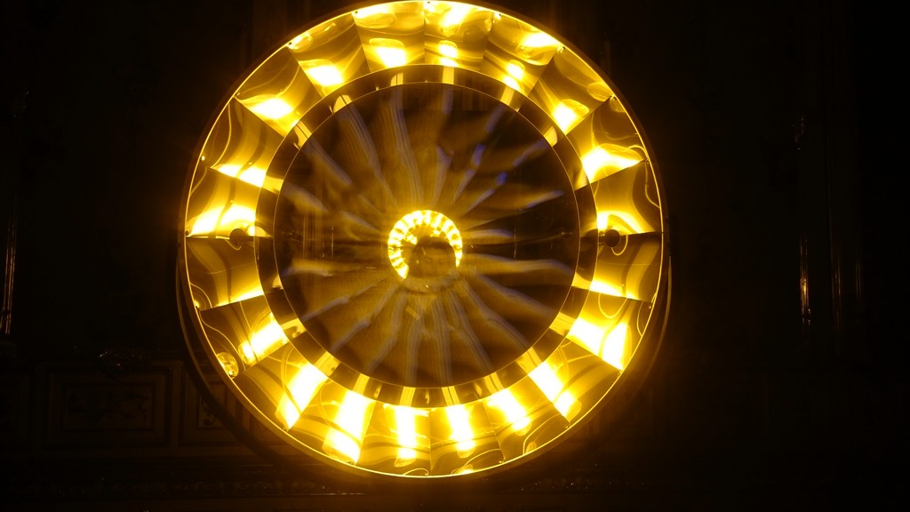 Exhibition of Olafur Eliasson & Baroque at Belvedere Winter Palace
