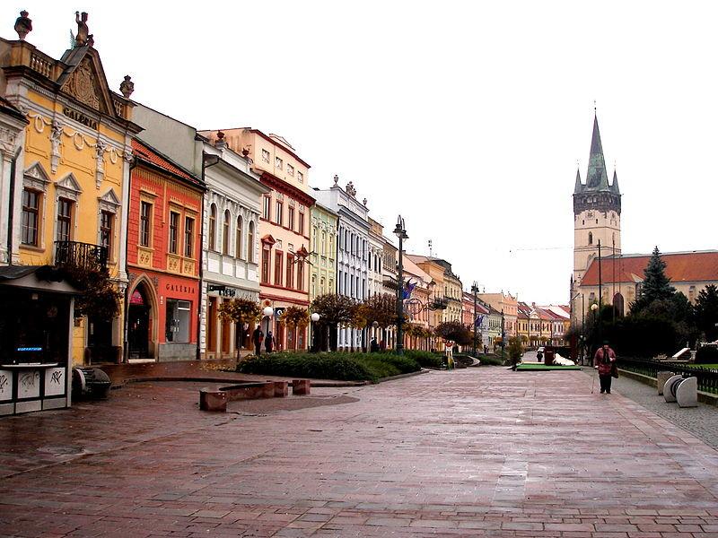Expérence Erasmus à Presov, Slovaquie