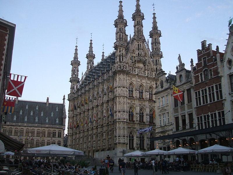 Expérience à Louvain, Belgique par Bart