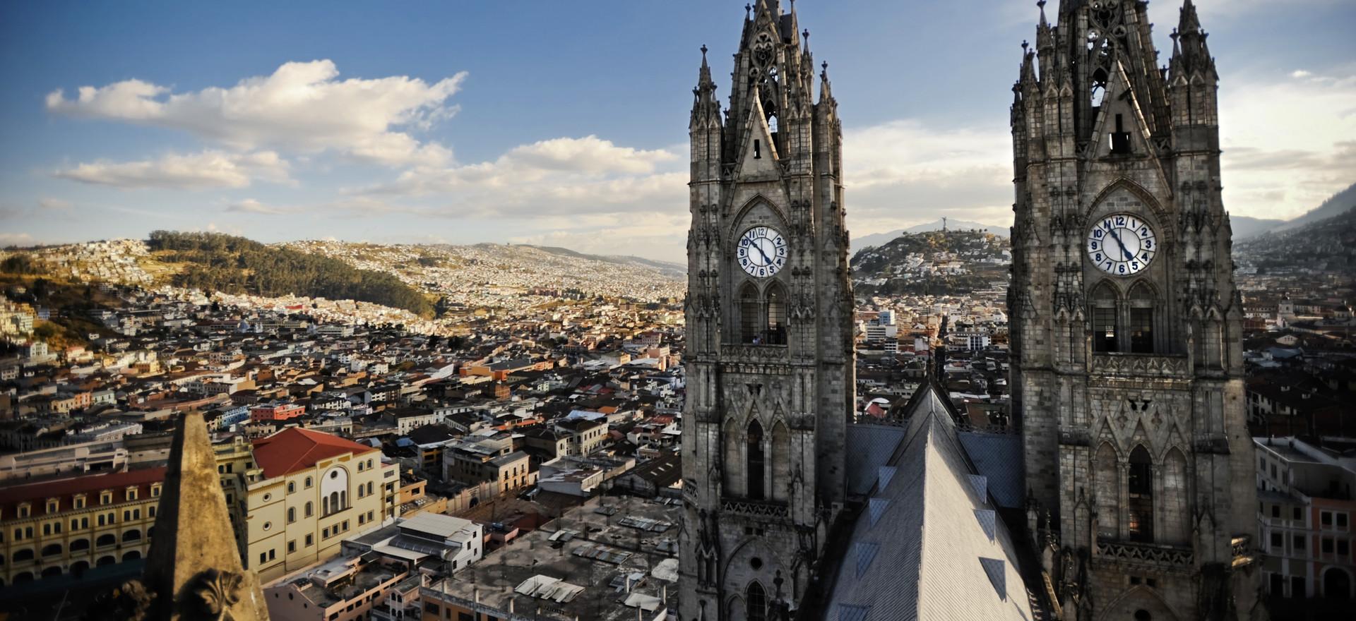 Expérience à Quito, Équateur par Pablo