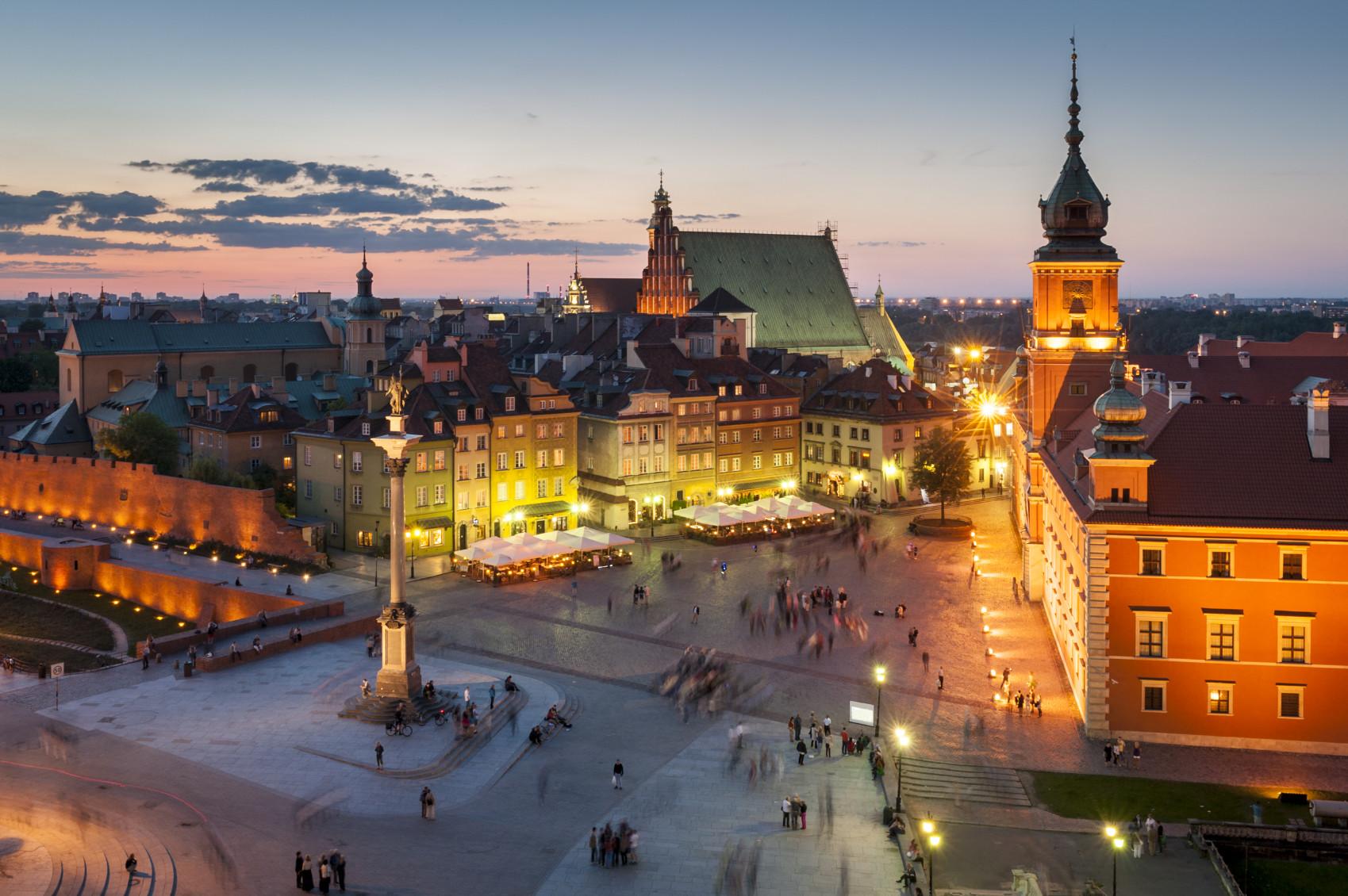 Experience à Varsovie, en Pologne par Denys