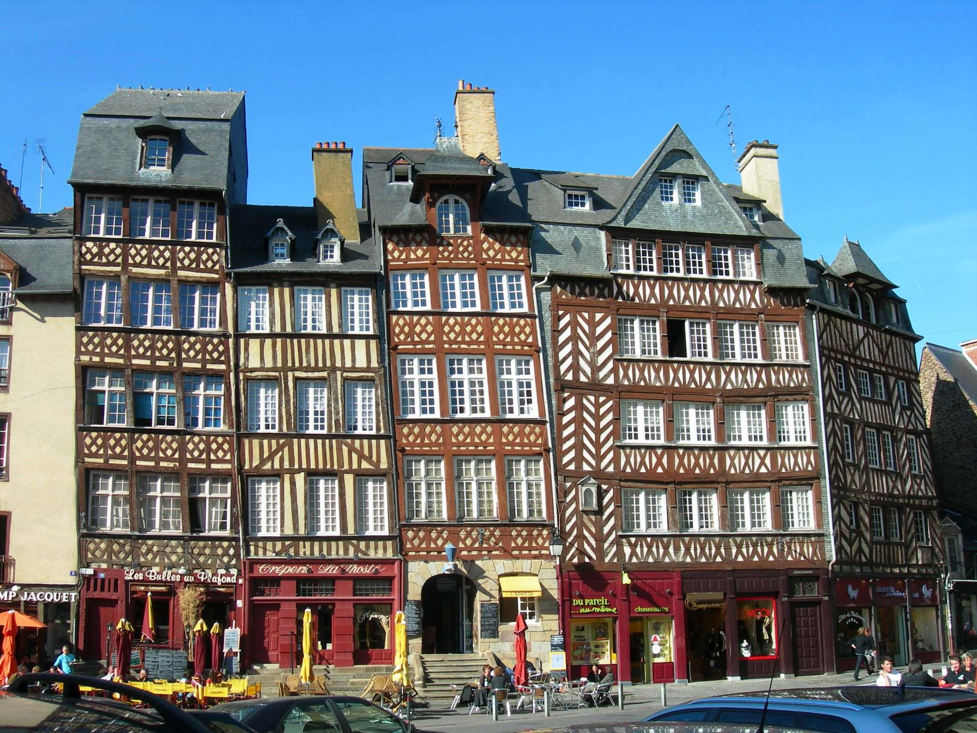 Experience at the University of Rennes II, in Upper Brittany France, by Pascaline