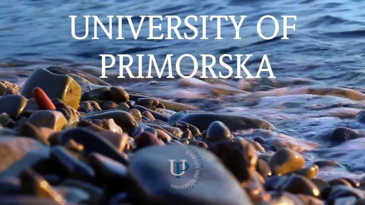 Expérience dans l'Université du Littoral, Slovénie par Jana
