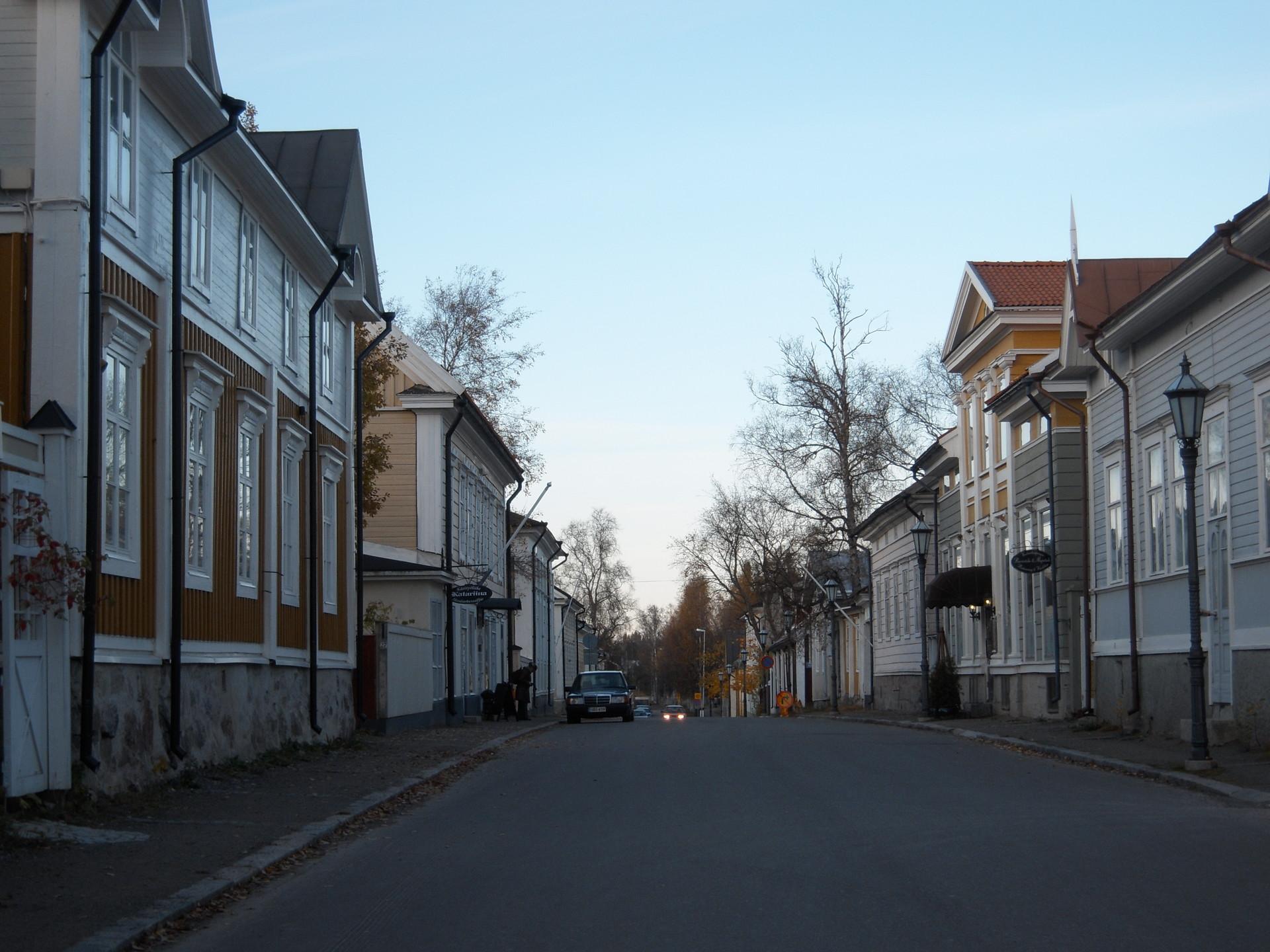 Expérience Erasmus à Kokkola, en Finlande par Vendula