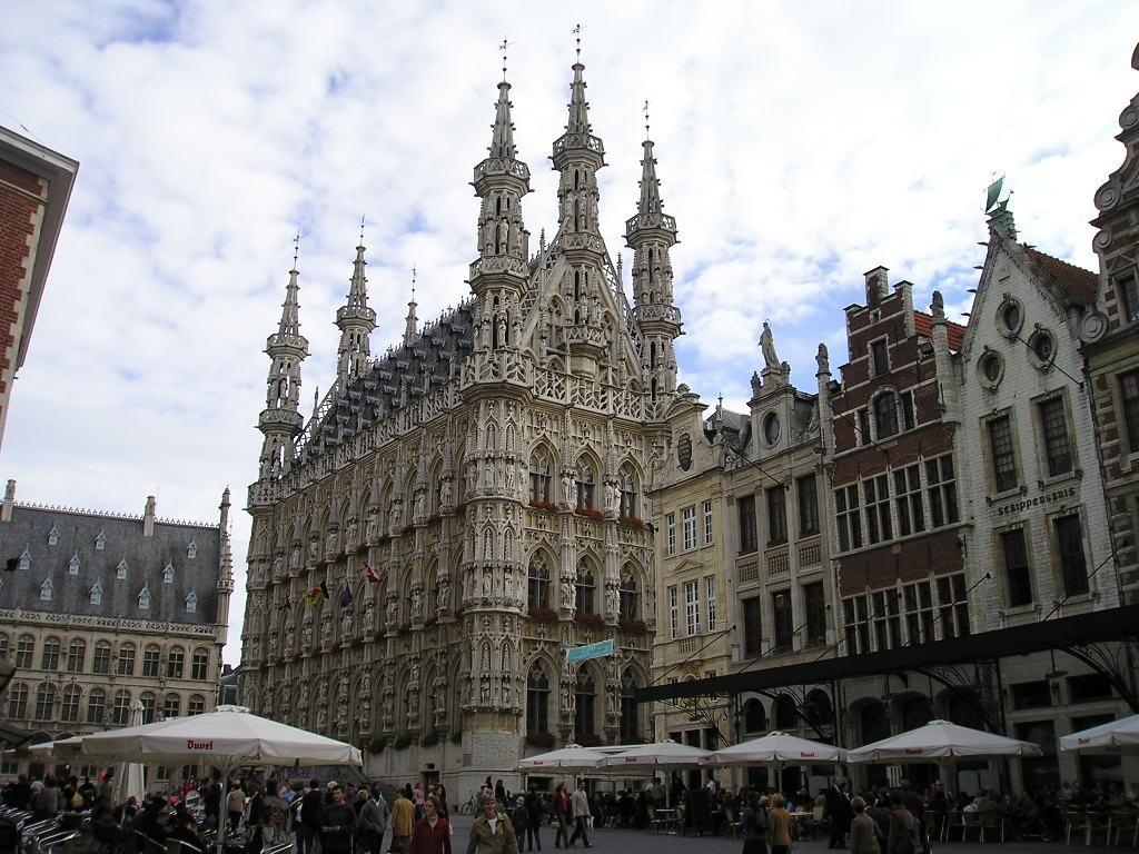 Expérience Erasmus à Louvain, Belgique par Sheeba.