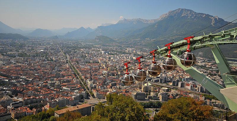 Expérience Erasmus de Carlos à Grenoble, en France