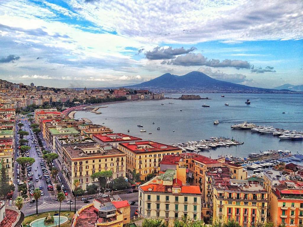 Expérience Erasmus de Estefania à Naples, en Italie