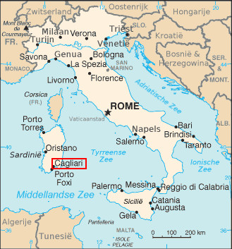 Expérience Erasmus de Marta à Cagliari, en Italie