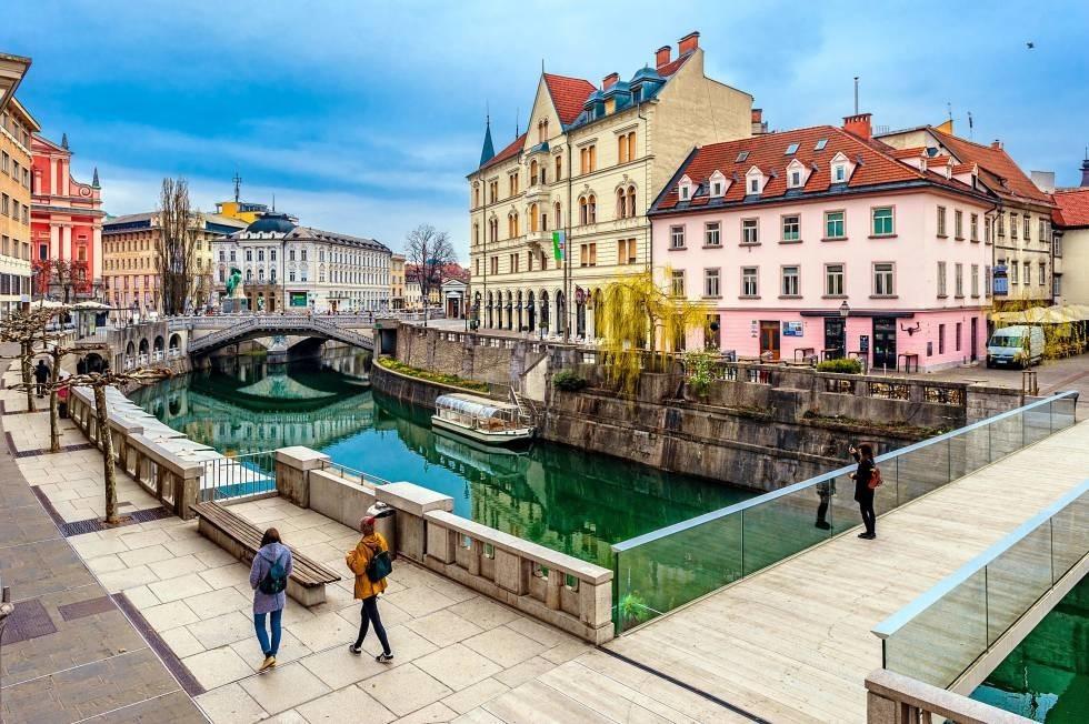 Expérience Erasmus de Pieter à Ljublana en Slovenie