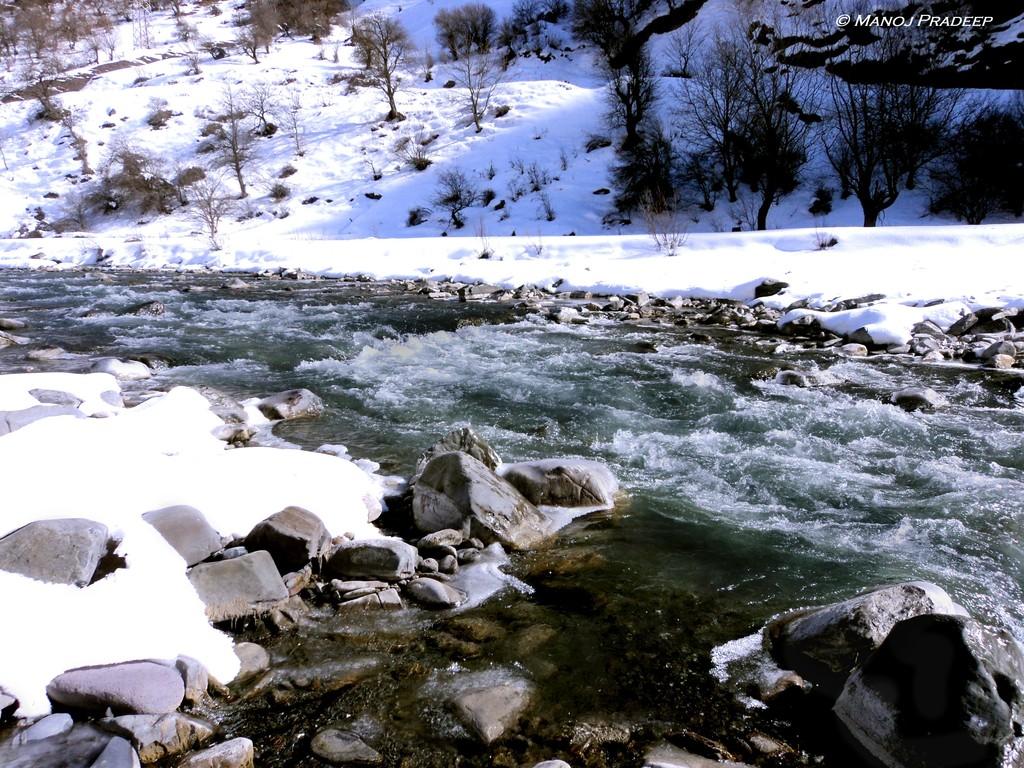 Expérience gelée à Gudauri
