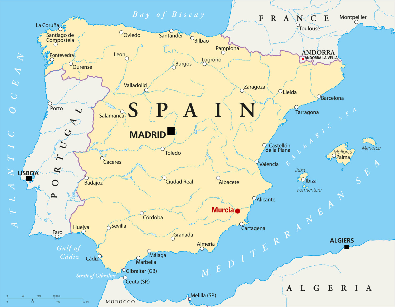 Map Of Spain Murcia.Experience In Murcia Spain By Adrian Erasmus Experience