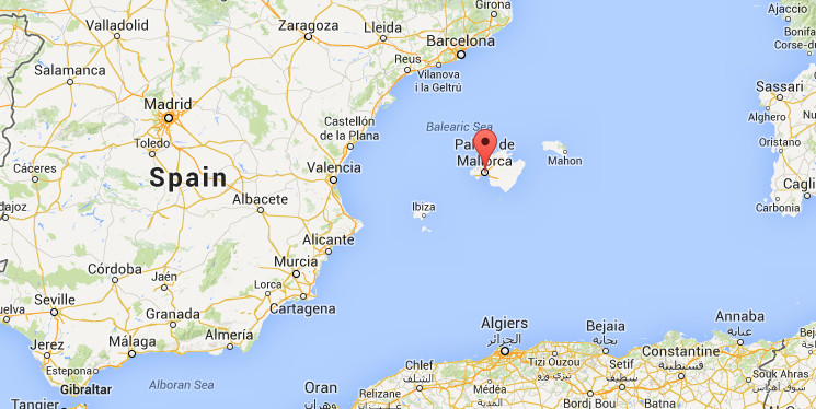 Map Of Spain Majorca.Experience In Palma Spain By Nadia Erasmus Experience Palma De