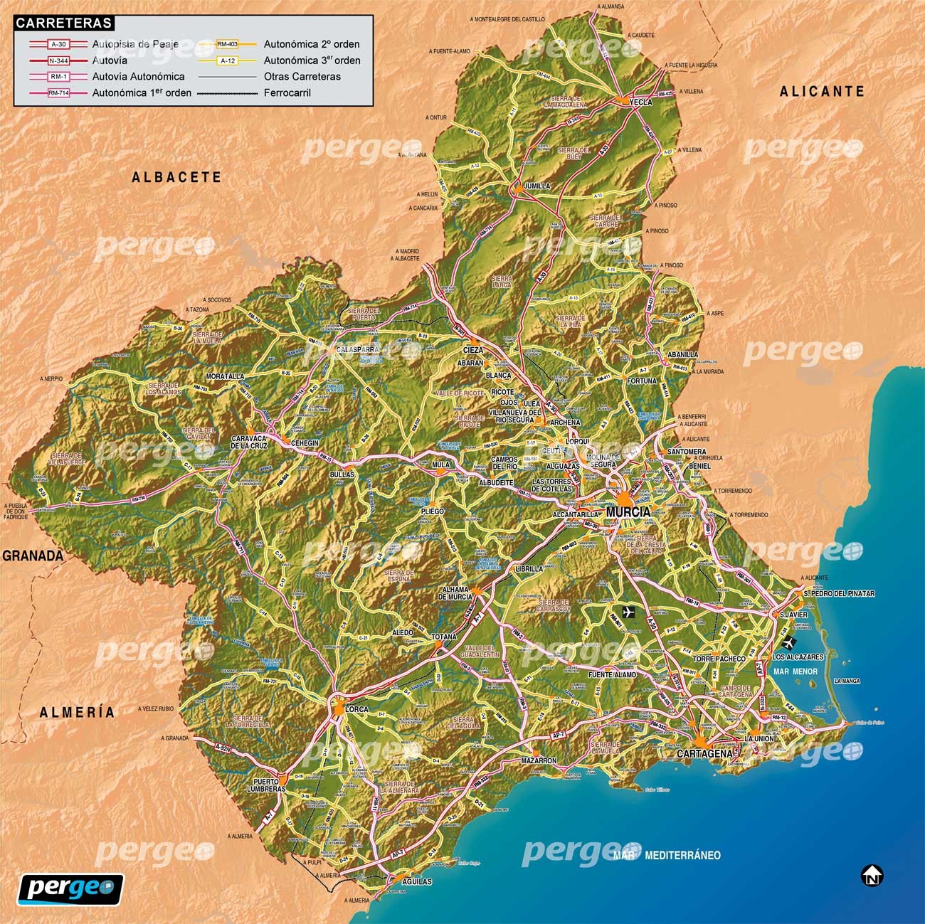 Map Of Spain Showing Murcia.Experience In Murcia Spain By Raquel Erasmus Experience Murcia