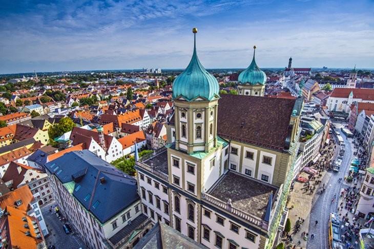 Experiência em Augsburgo, Alemanha por Nadine
