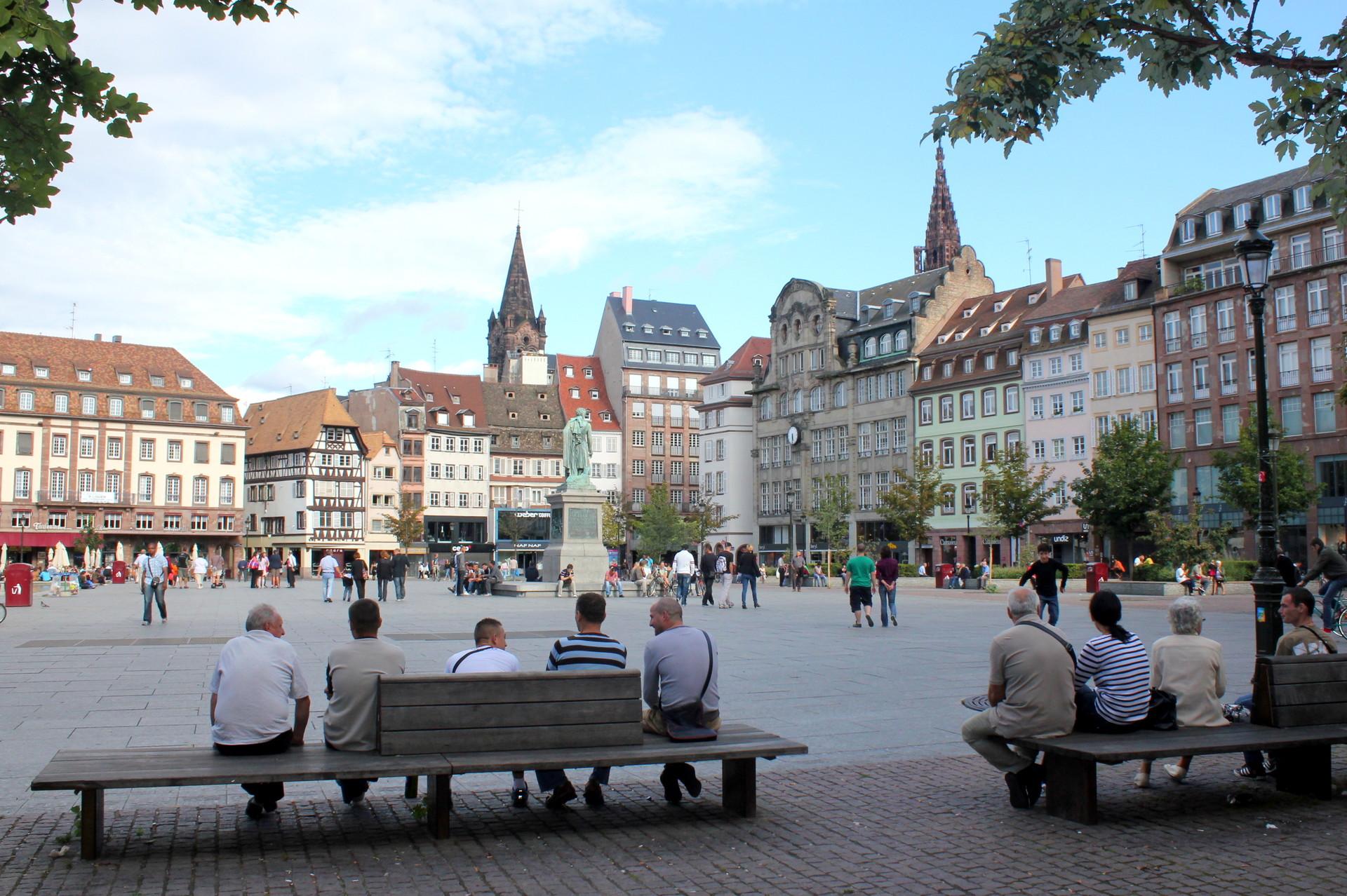 Experiência em Estrasburgo, França por Daniela