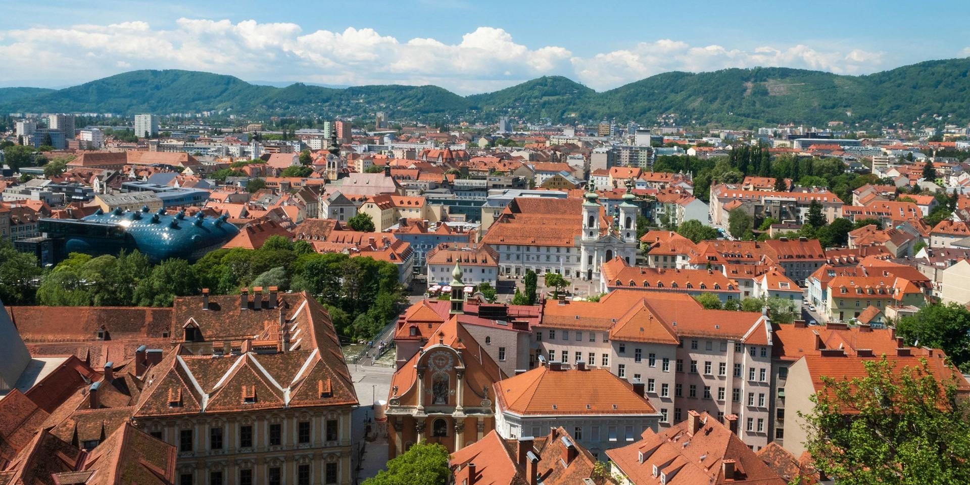 Experiência em Graz, Áustria (por Ana)