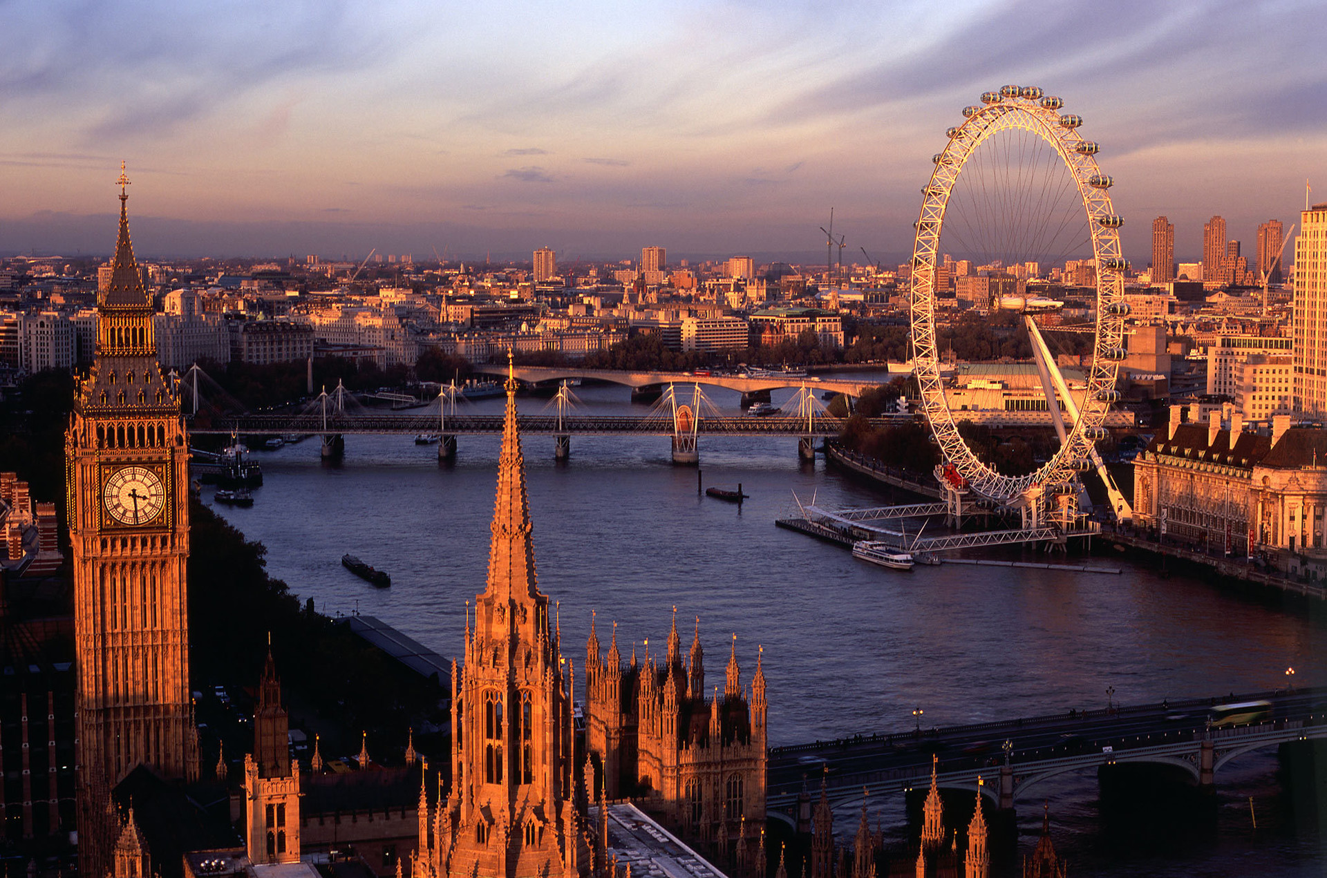 Experiência em Londres, Reino Unido, de Daniel