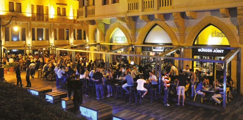 Experiencia en Beirut, Líbano