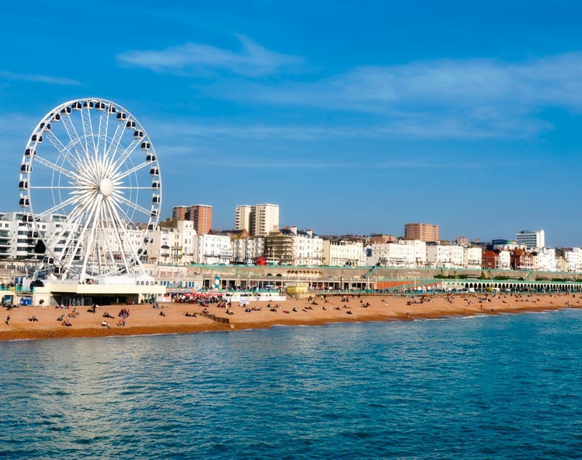 Experiencia en Brighton, Reino Unido de Georgia