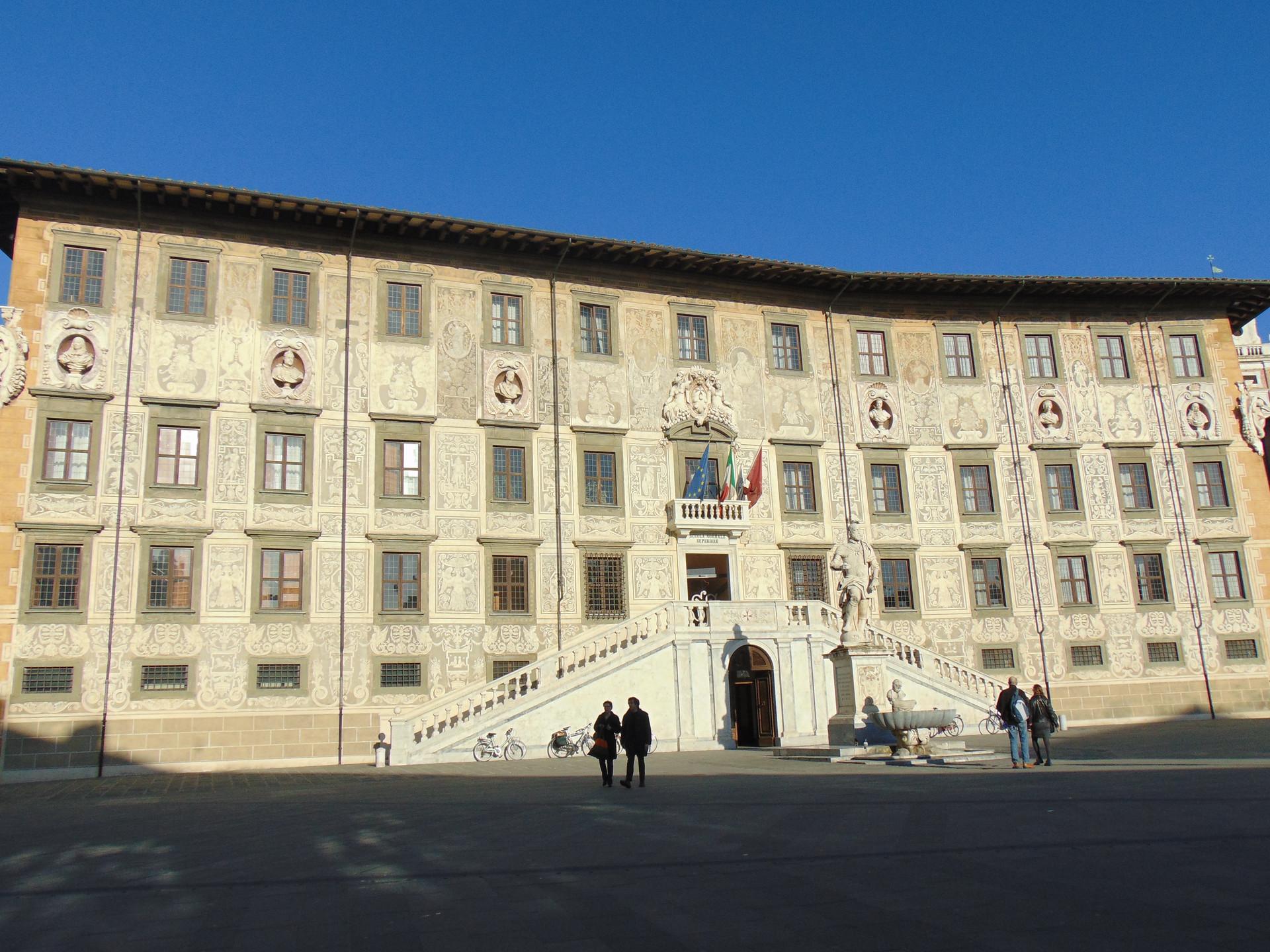 Experiencia en la Universidad de Pisa, Italia, por Silvia