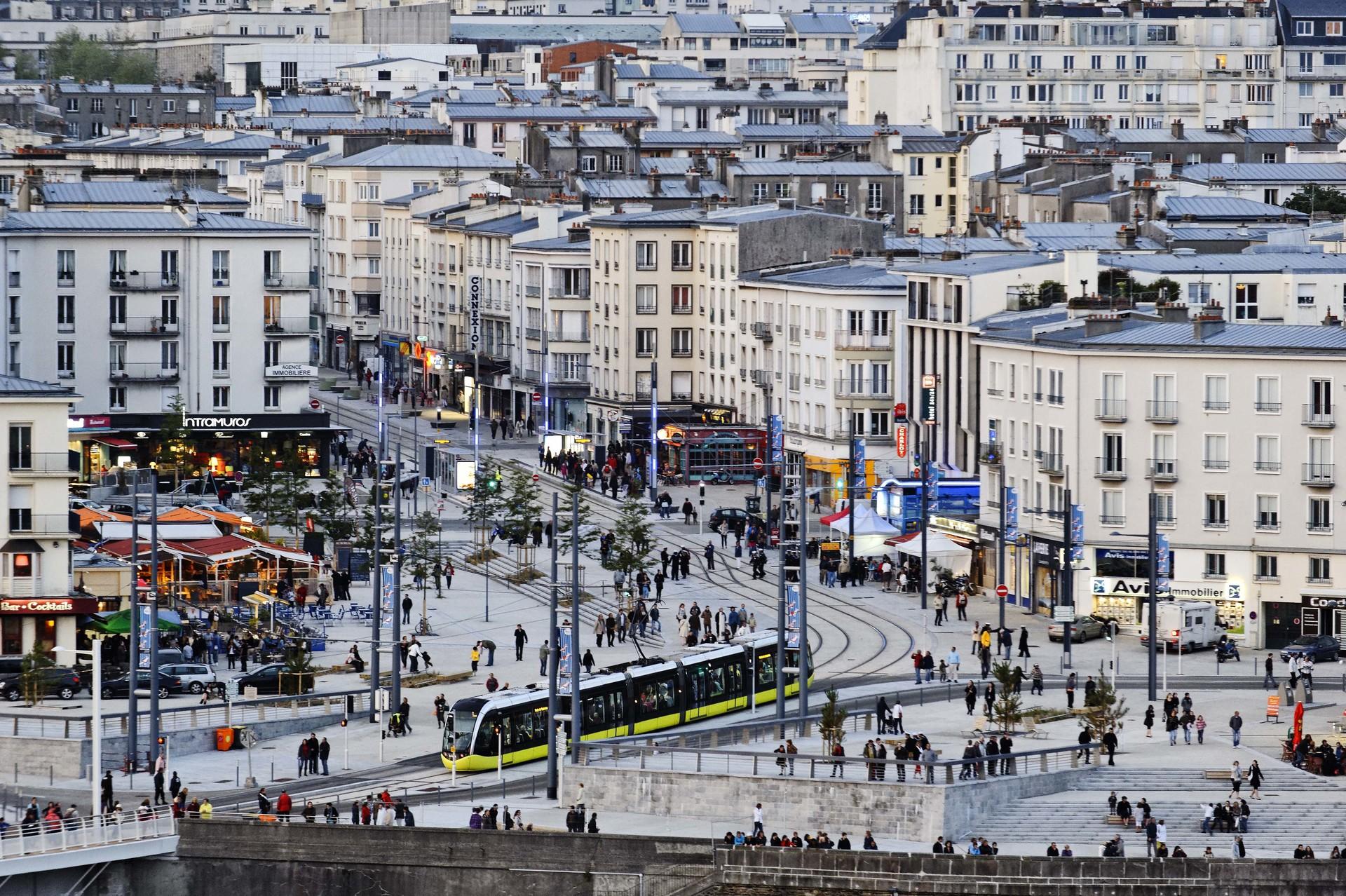 Brest Centre Ville Plan