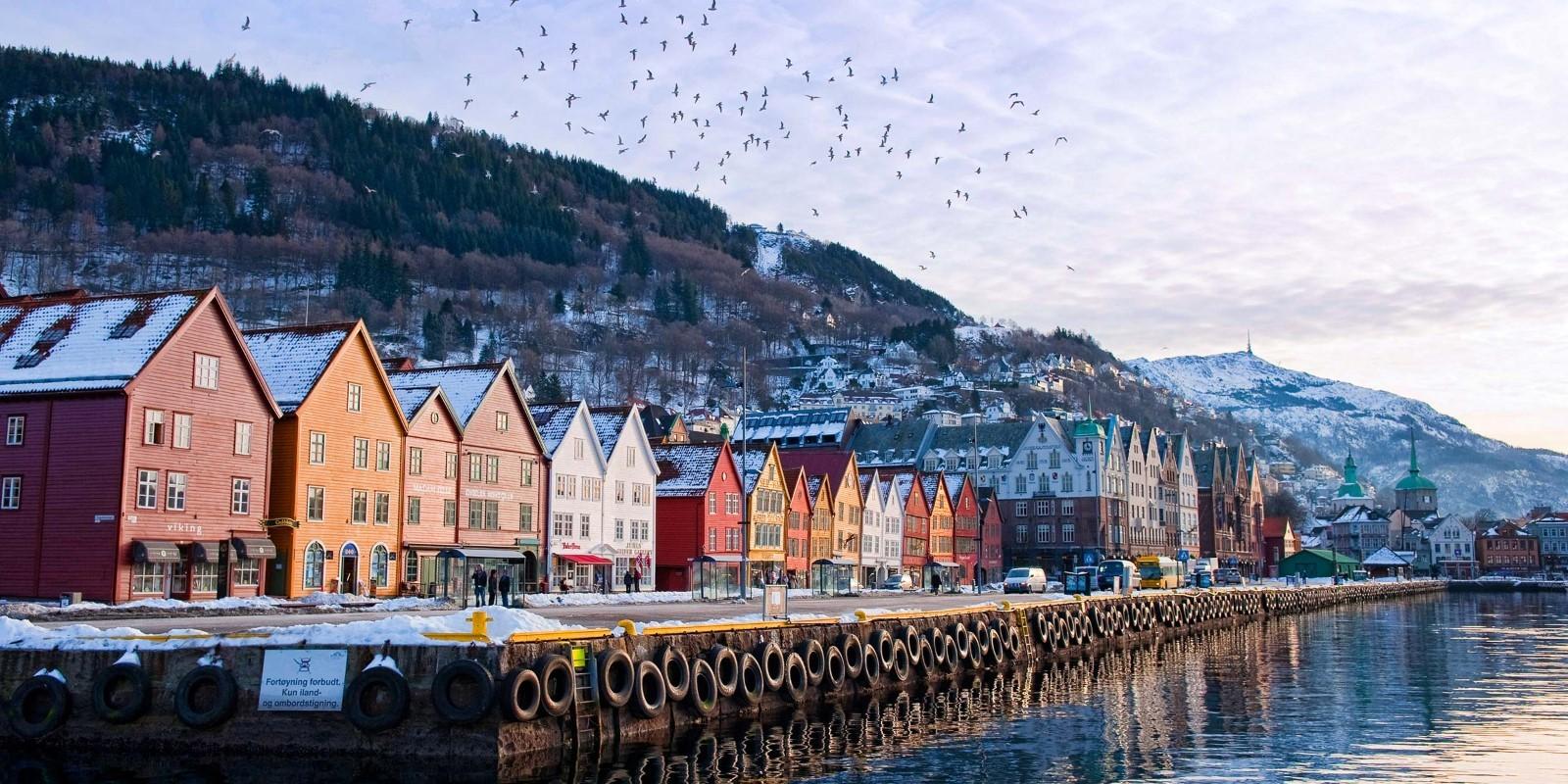 Experiência de Erasmus em Bergen, Noruega, por Maya