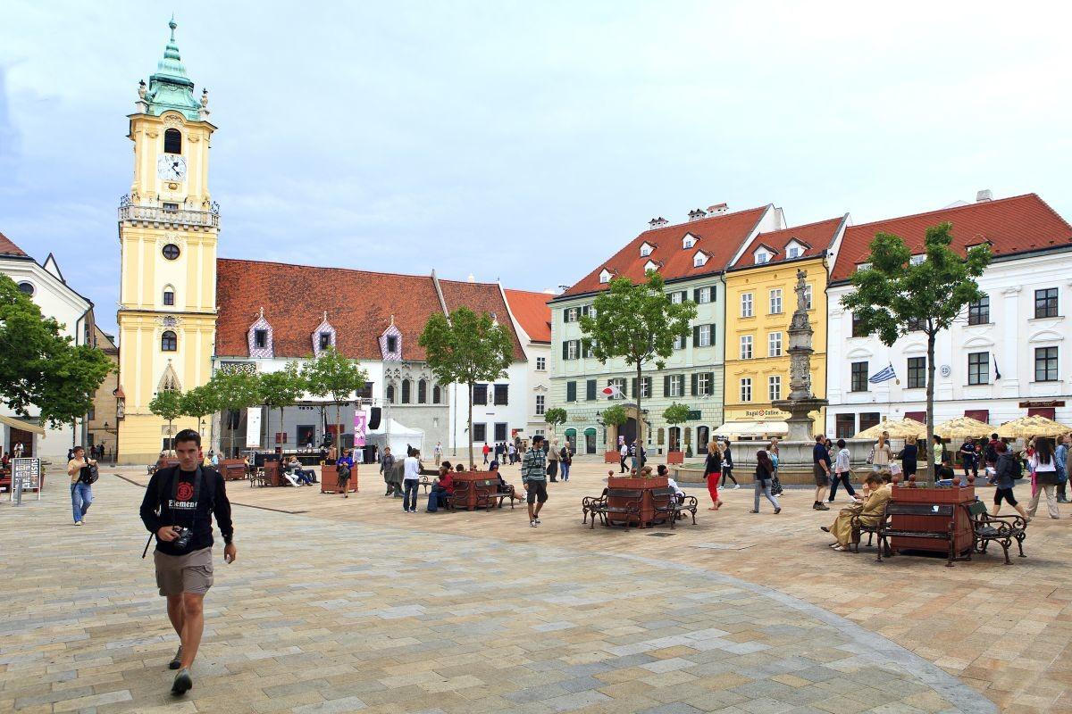 Experiência de Erasmus em Bratislava, Eslováquia, por Tsampika